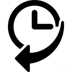 navigation-history-interface-symbol-of-a-clock-with-an-arrow_318-48523
